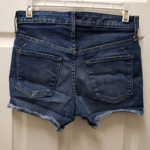 Mossimo Supply Co. Shorts - Mossimo Cargo Hot Jeans High Rise Shorts size 2